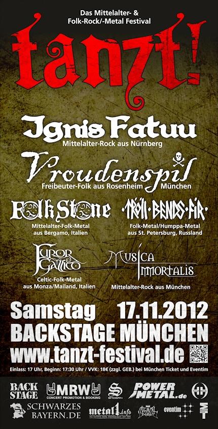 TANZT! - Das Mittelalter- & Folk-Rock/-Metal Festival
